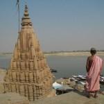 Helig man. Varanasi