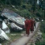 Bönestigen. Dharamsala
