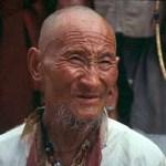 Tibetansk pilgrim. Dharamsala .