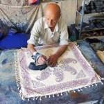 Tygkonstnär. Esfahan