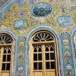 Golestanpalatset. Teheran (U)