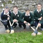 Hurlingspelare. Rock of Cashel