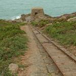 Tysk bunker WWII. Le Corbiere