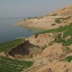 Vy över Döda Havet