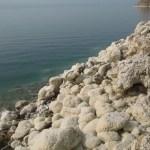 Saltkristaller. Döda Havet