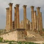 Artemis tempel. Jerash