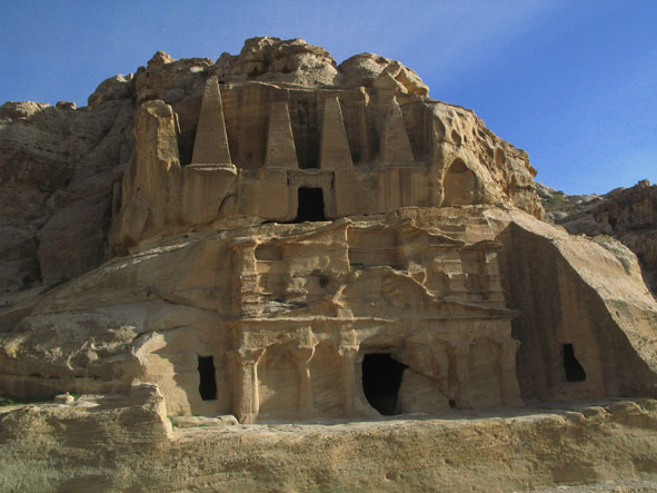 Obeliskgraven. Petra (U)