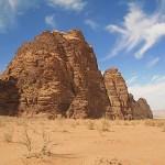 Den vackra öknen Wadi Rum (U)