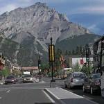 Stadsbild. Banff (U)