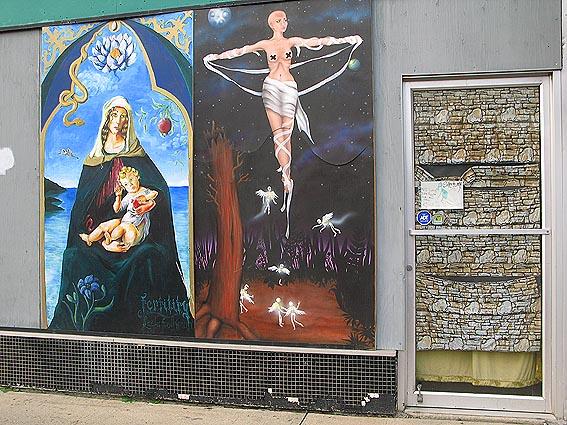 Muralmålningar. Edmonton