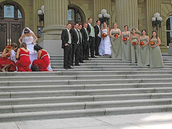 Brudpar. Edmonton