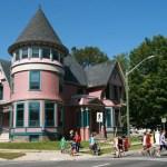 Gammalt hus. Fredericton (NB)