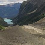 Glaciärlandskap. Lake Louise National Park (U)