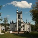 En av kyrkorna. Lunenburg (NS) (U)
