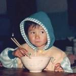Nudelsoppa till frukost. Jinghong