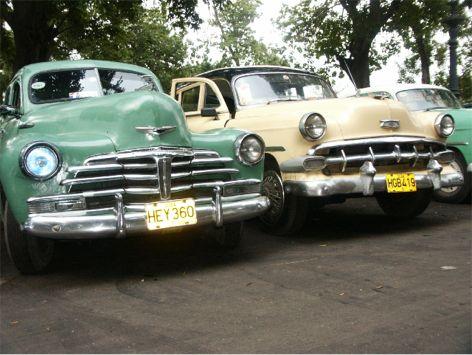 Gamla amerikanare. Havanna
