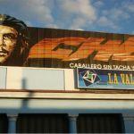 Che Guevara-skylt. Cienfuegos