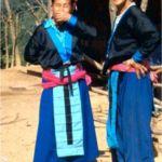 Hmongkvinnor. Ban Chongcha