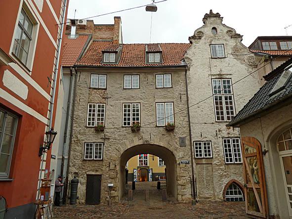 """Svenskporten"". Riga (U)"