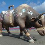 """Cow parade"". Ventspils"