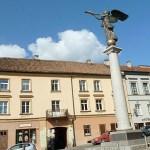 Uzupis ängel. Vilnius