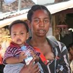 Marknadsbild. Antananarivo
