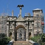Rova, drottningborgen. Antananarivo