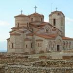 Kyrkan Sv Kliment at Plaosnik. Ohrid (U)