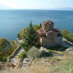 Kyrkan Sv Jovan Kaneo. Ohrid (U)