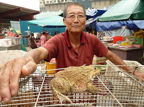 """Grodkungen"". Pudu market. Kuala Lumpur"