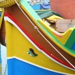 Båt med Osiris öga. Marsaxlokk