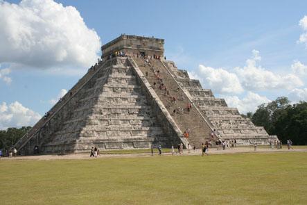 Den stora pyramiden. Chichen Itza