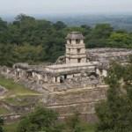Vy över Palenque. Mexiko (U)
