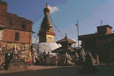 Templet Swayumbunath. Kathmandu