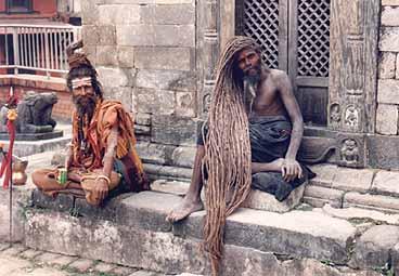 Helig man. Kathmandu