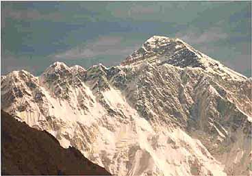 Vy över Mount Everest. Sagarmatha National Park (U)