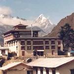 Klostret. Tengpoche. Sagarmatha National Park (U)
