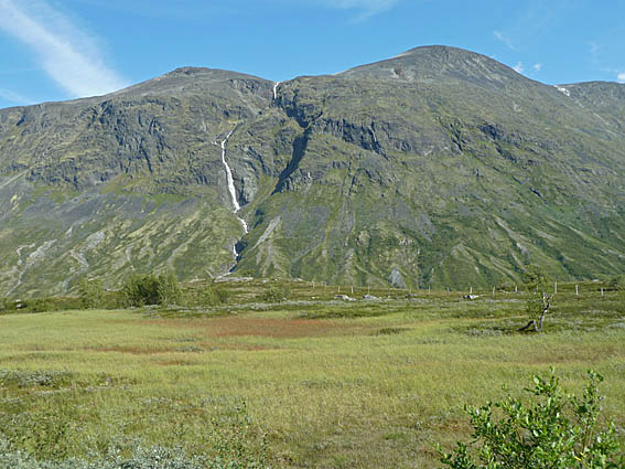 Längs Sognefjellsvägen
