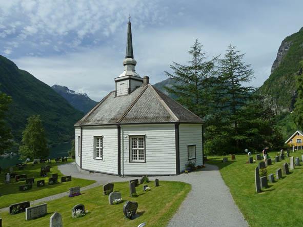 Kyrkan. Geiranger