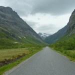 Vägen in i Norangsdalen