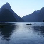 Skymning vid Milford Sound (U)