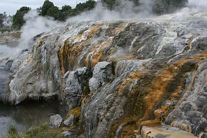Geotermiskt område. Rotorua