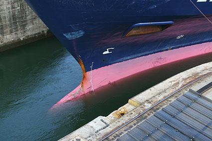 Panama kanalen. Gatun
