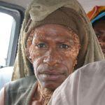 Kvinna med sorg. Wosilumo