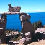 Solport på ön Taquile. Titicacasjön