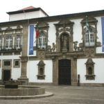 Historiska staden Guimaraes. Portugal (U)