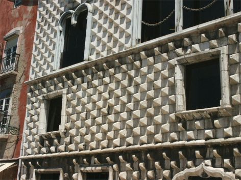 Casa dos Bicos. Lissabon