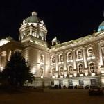Serbiska parlamentet. Belgrad