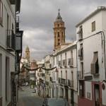 Vy från staden Antequera