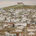 Vy över staden Antequera